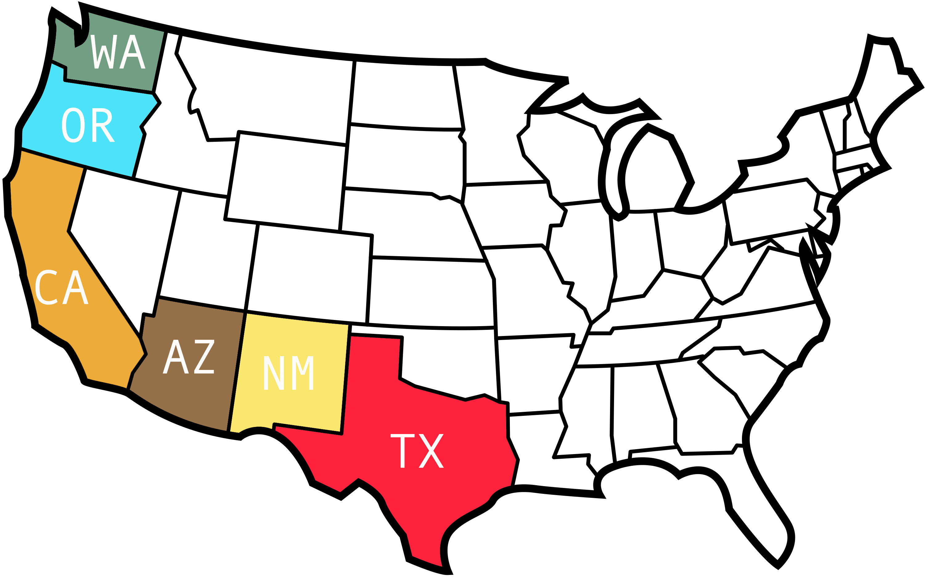 -United-States-Outline-with-States